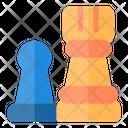 Player Versus Player Opponent Arcade Icon