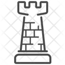 Chess Rook Rook Chess Elephant Icon