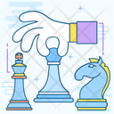 Chess Tower Chess Piece Chess Guard Icon