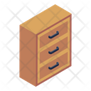 Drawers Chest Of Drawers Bureau Icon
