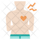 Chest Pain Heart Icon