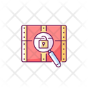 Chest With Lock Icon