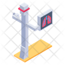 Chest X Ray Stand Icon