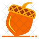 Chestnut Nut Autumn Icon