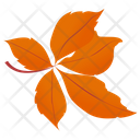 Chestnut Leaves Icon