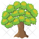 Chestnut Tree Icon