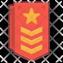 Chevron Military Army Icon