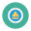 Chevron Button Music Icon