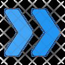 Chevron Double Icon
