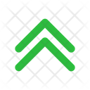 Chevron Double Up Icon