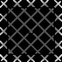 Down Boxed Arrow Icon