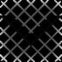 Chevron Down Arrow Icon