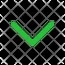 Chevron Down Arrow Arrows Icon