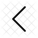 Chevron Left Arrows Icon