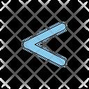 Left Previous Arrow Icon