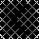 Arrow Left Backward Icon