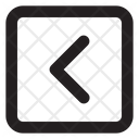 Chevron Left Sq Fr Chevron Arrow Icon