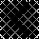 Chevron Left Arrow Icon