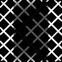 Half Arrow Left Icon