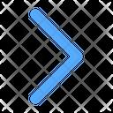Chevron Right Arrow Direction Icon
