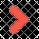 Chevron Right Arrow Right Icon