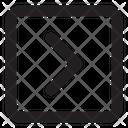 Chevron Right Sq Fr Chevron Arrow Icon