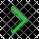 Chevron Right Arrow Arrows Icon