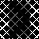 Half Arrow Right Icon