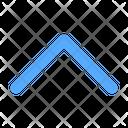 Chevron Up Arrow Direction Icon