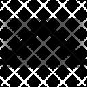 Half Arrow Up Icon