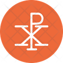 Chi Rho Kee Roe Chi Icon