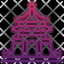 Chiang Kai Shek Memorial Hall Taiwan Icon