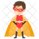 Chibi Superman Superhero Cartoon Comic Superhero Icon
