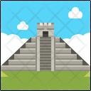 Chichen Itza Mexico Landmark Icon