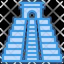 Chichen Itza Pyramid Mexico Pyramids Icon