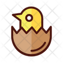 Chick Egg Food Icon