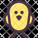 Spring Chick Bird Icon