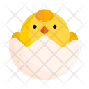 Chick Animal Zoo Icon