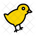 Chick Easter Doodle Icon