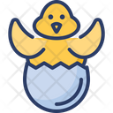 Chick Egg Icon