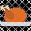 Chicken Food Grilled Chicken Icon