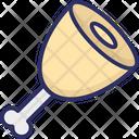 Chicken Chicken Piece Food Icon