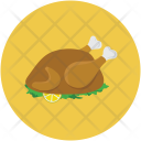 Chicken Food Roast Icon