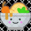 Chicken Salad Food Icon