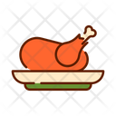 Chicken Day Food Icon