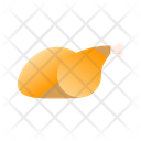 Chicken Food Protein Icon