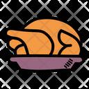Meal Turkey Dinner Icon