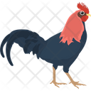Chicken Cock Feather Creature Icon