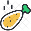 Chicken Leg Piece Icon