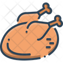 Chicken Raw Rooster Icon